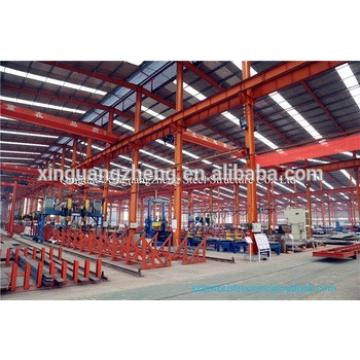 Steel Workshop Application and Light Type factory steel structure/prefabricated steel structure/steel frame overhead crane price