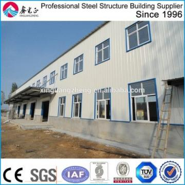 steel structure two story building/steel structure hotel building fabrication company in China