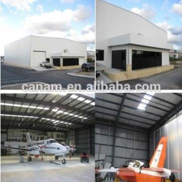 modern design Prefabricated steel structure hangar