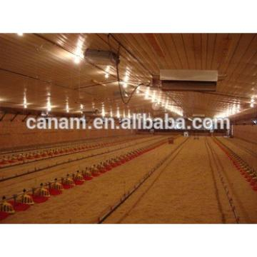 china supplier Prefabricated steel structure chicken house poultry farming