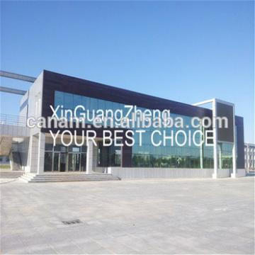 china high quality modern steel structure building for hotel workshop