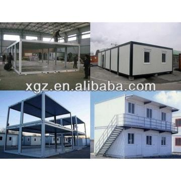 Hot sale 20feet folding sandwich panel container house