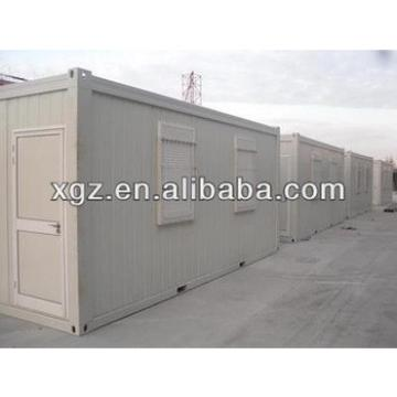 Low cost sandwich panel container house for living