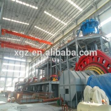 Prefabricate Large Span Steel Warehouse Mezzanine Structure