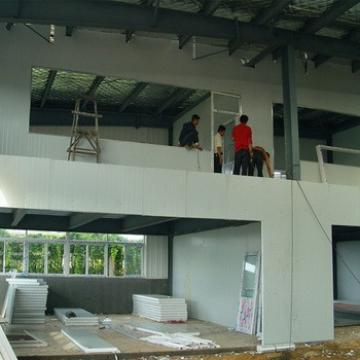 Low Cost Prefabricated Steel Structure Two Story Building Warehouse