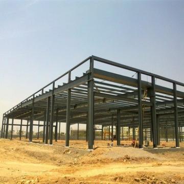 Prefabricated Industrial Light Steel Metallic Structures For Warehouse