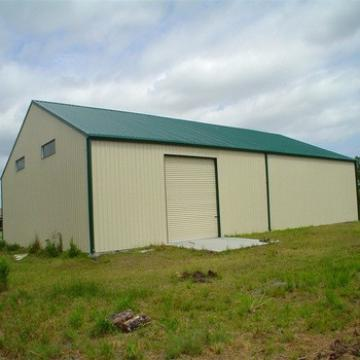 Low Cost Light Frame Structural Prefabricated Steel Barn For Sale