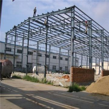 China Low Cost Light Gauge Steel Building Prefabricated Industrial Shed Steel Structure Warehouse