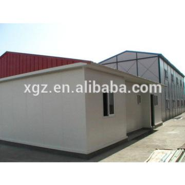 Pitched roof steel structure house prefabricated