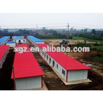quick assembled low cost prefab house for worker accommodation