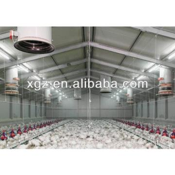 steel structure poultry house for chicken
