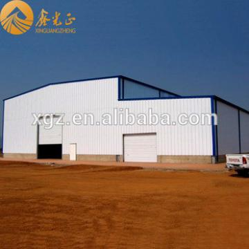 Steel frame steel structure warehouse Ethiopia