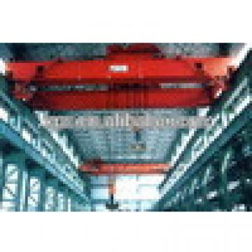Motor-driven workshop overhead crane