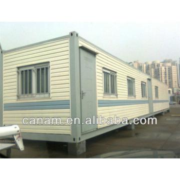 CANAM- flat pack steel container house plans