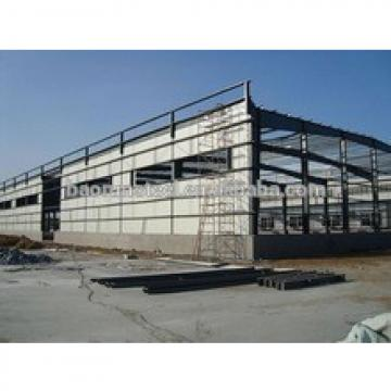 Project heavy prefab steel frames customized structural steel frame for building
