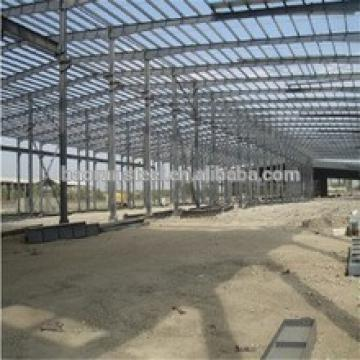Light duty large span steel structure building construction design