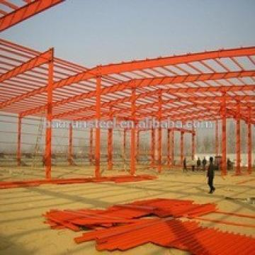 Costruction prefabricated large span steel structure light steel building/warehouse