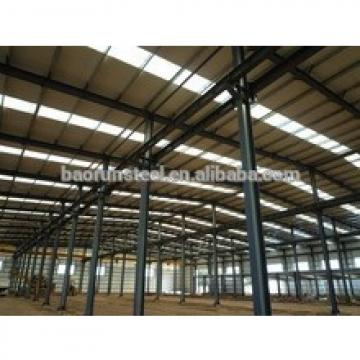 Wide Span Heavy Steel Structure Building With Iso & CE Standard