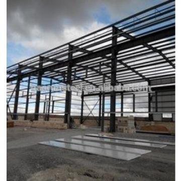 Preengineering steel structure building - ISO 9001:2000 prefabricated heavy structural steel building