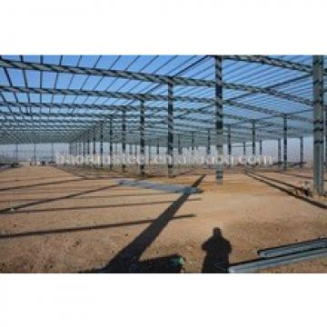 Low cost heavy steel structure modular warehouse building built for Africa market