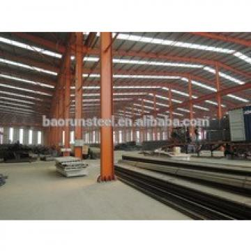 Prefab Large Span Steel Structure Warehouse Design and process