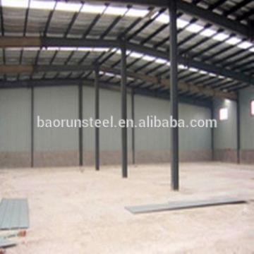 Easy installation light steel structure with galsses in front side
