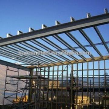 Low cost steel structure workshop/factory in U.S.A