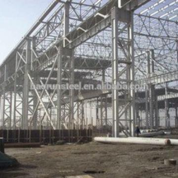 Good Rookwool Sandwich panel prefab steel structure warehouse