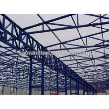 Prefabricated light construction design steel structure warehouse base on drawing
