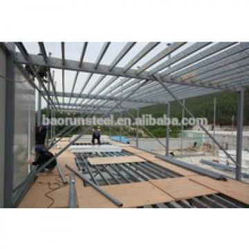 CE approved customized story prefab steel structure warehouse