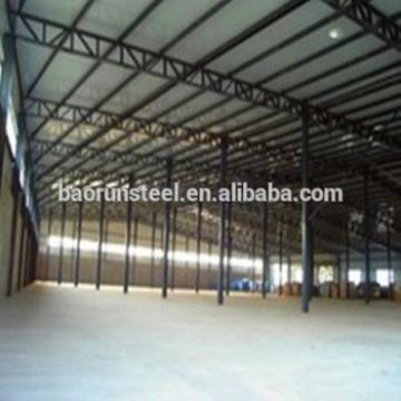 Prefab steel workshop insulated steel beam warehouse hangar