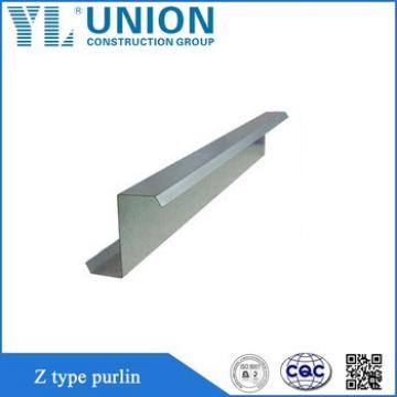 z steel channel for building materials