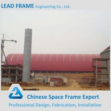 Light Weight Long Span Steel Space Frame Roofing Structure Cement