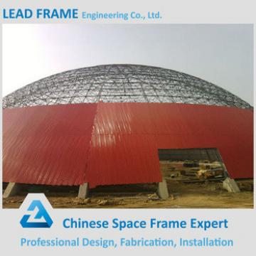 High Rise Large Storage Tent Hemisphere Coal Storage Metal Roofing