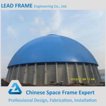 Large Scale Hemisphere Coal Power Plant Steel Space Truss Structure
