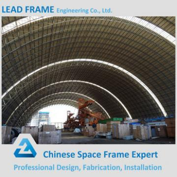 LF Steel Prefabricated Building Coal Shed China Metal Storage Sheds