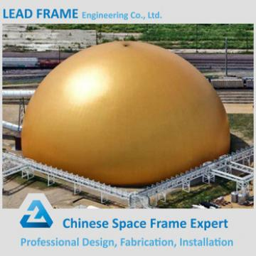 Space Framing Hemisphere Coal Power Plant Steel Roof Construction Structures