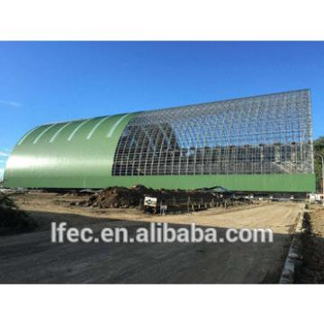 High Quality Power Plant Coal Shed Used Steel Space Frame