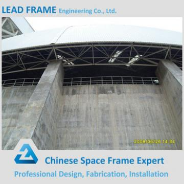 good price steel space frame for limestone storage domes