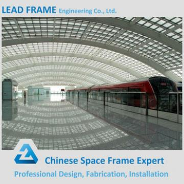 Stainless Steel Roof Truss For Railway Station Platform