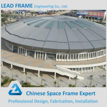 Light steel space frame indoor prefabricated gym