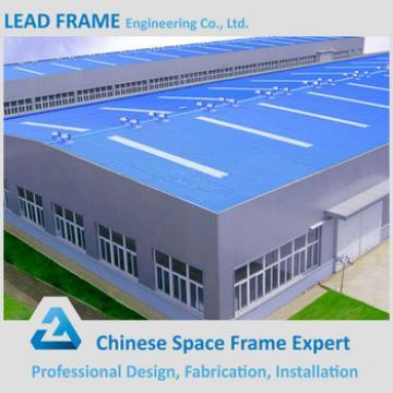 Low Cost Light Space Steel Fabrication Workshop Roof Truss