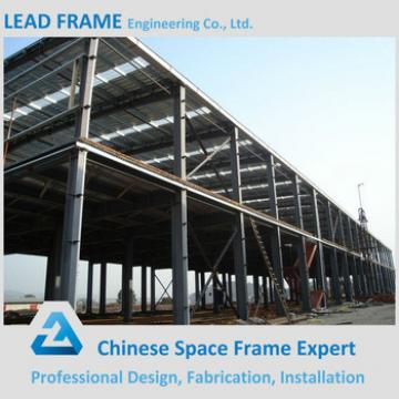 Economical prefabricated steel structure building for sale