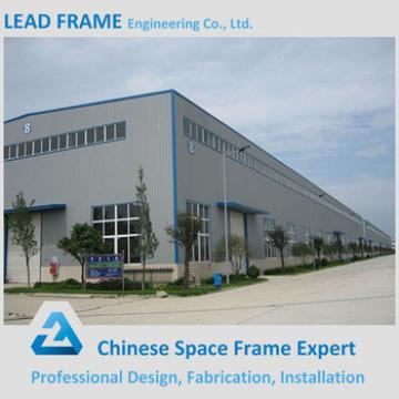 Large Span Space Grid Frame Structure for Metal Building