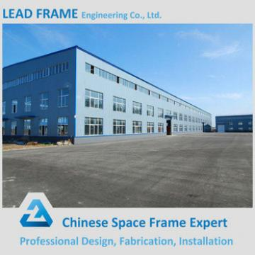 Long span light weight prefabricated steel structure