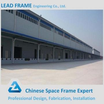 Wide Span Steel Structure For Workshop Buildings
