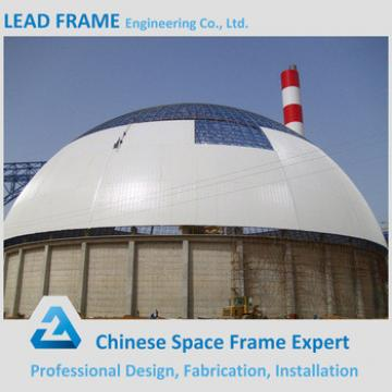 Galvanized steel dome fabric building roof structure
