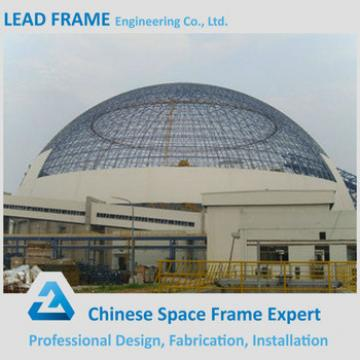 High Strength Large Span Metal Dome Shed LF Space Frame Structure Manufacturers