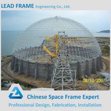 Steel Double Layer Grid Space Frame For Coal Storage Building