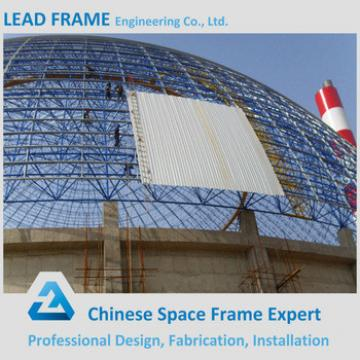 Storm-proof Economical Space Frame Structures Construction for Coal-Fired Power Plant